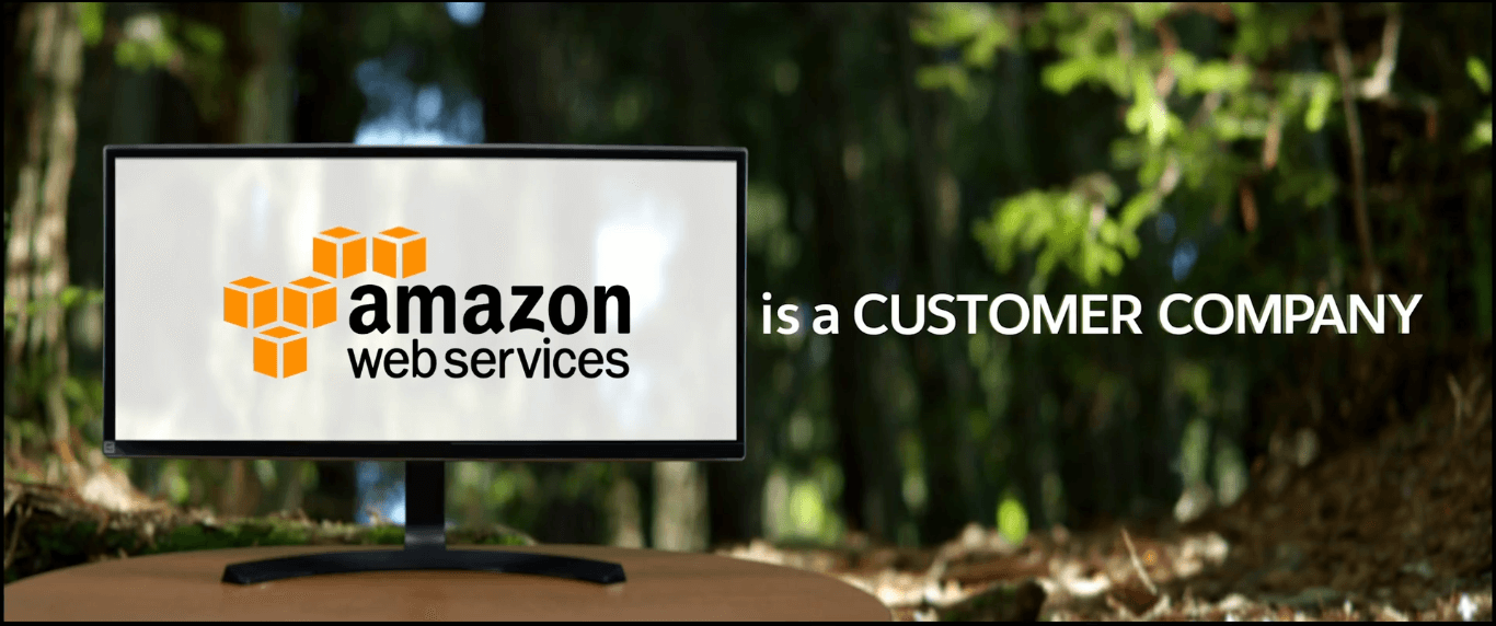 Amazon Web Serivces uses Salesforce