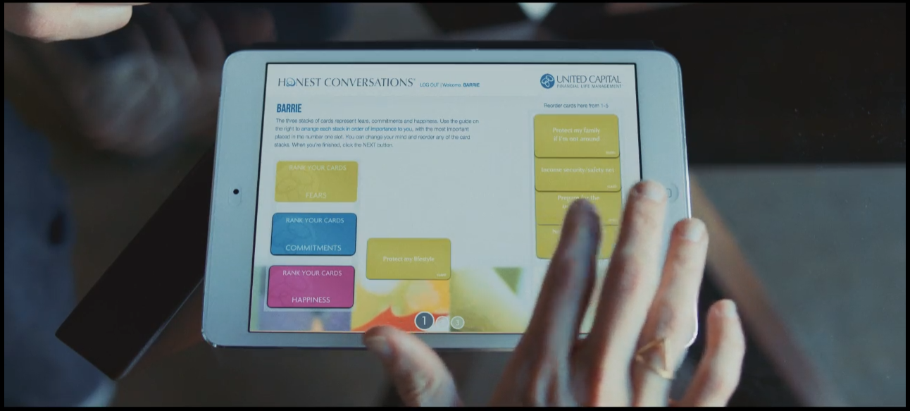 United Capital's Honest Conversation® is now an iPad experience