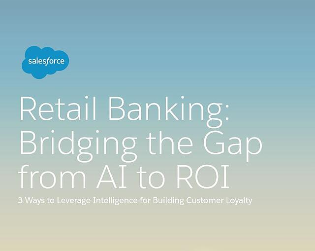 Salesforce retail banking ebook