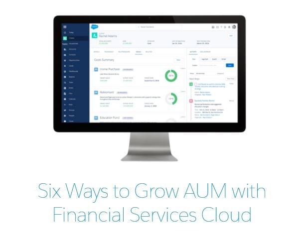 6 Ways to Grow AUM eBook by Amber Rudin on Salesforce