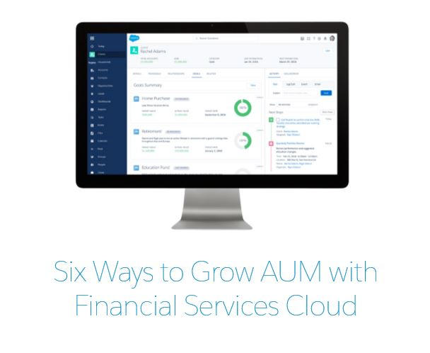 6 Ways to Grow AUM eBook by Amber Rudin on Salesforce