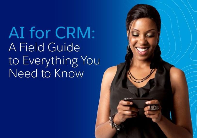 Salesforce AI for CRM ebook
