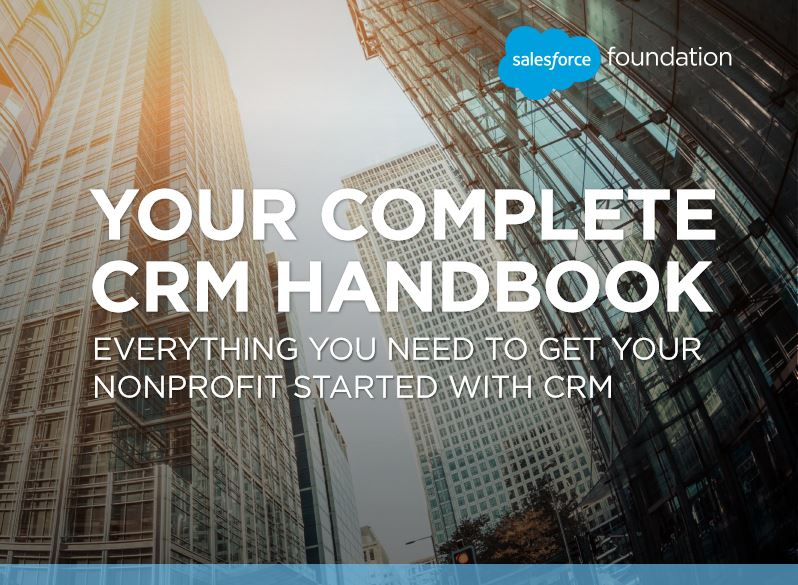 Download Your CRM Handbook - Nonprofit Edition