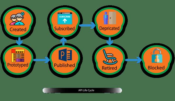 Fig 5, API Life cycle.