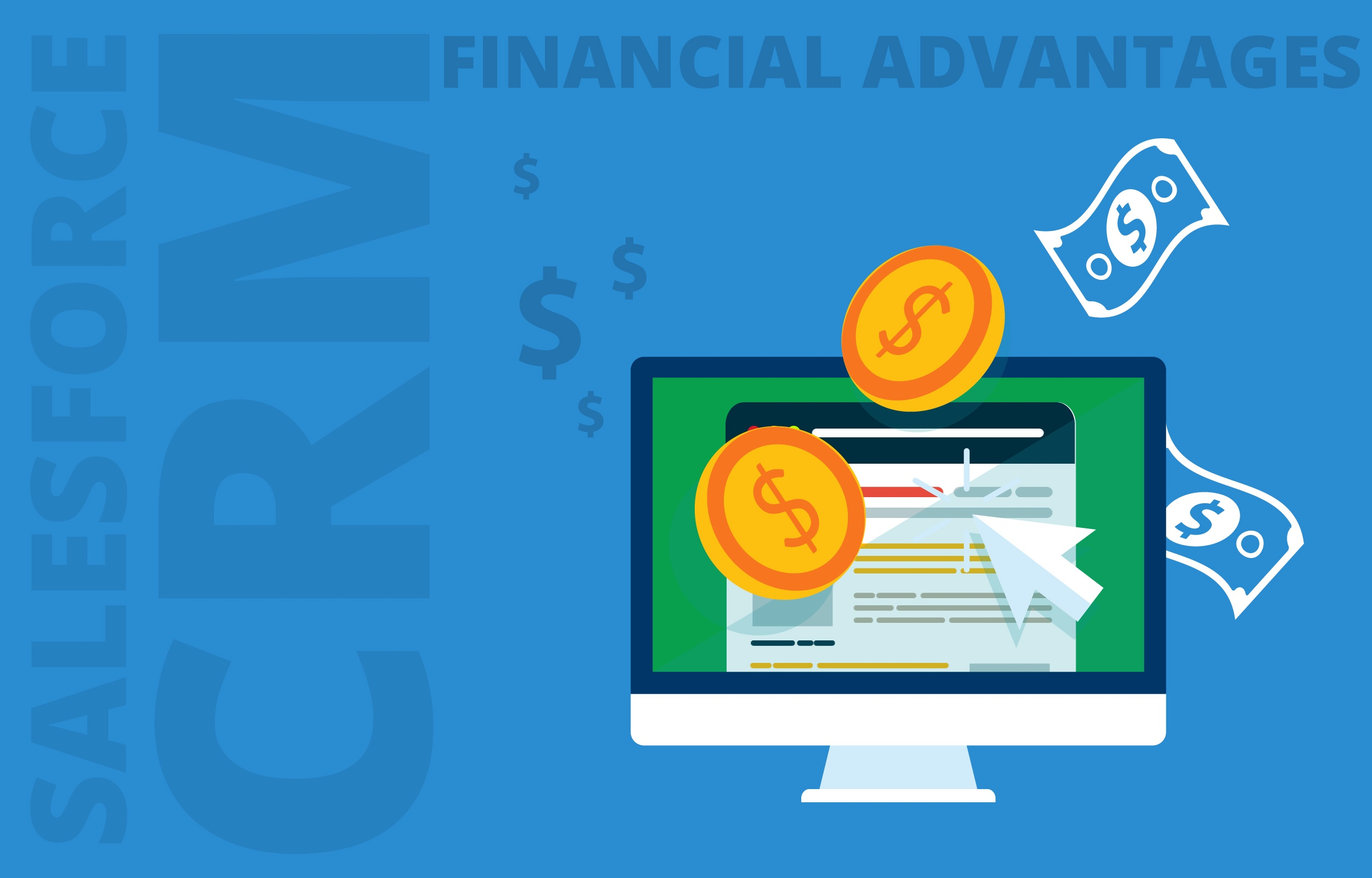 What Competitive Advantage Do the Financial Services Gain by Using Salesforce CRM