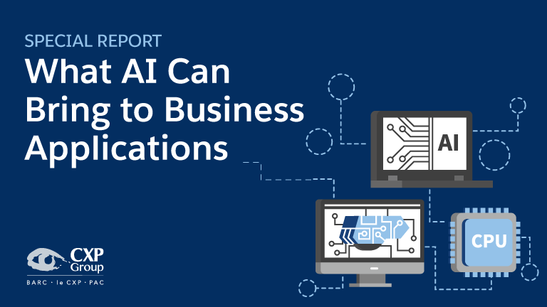 What AI Can Bring To Business Applications